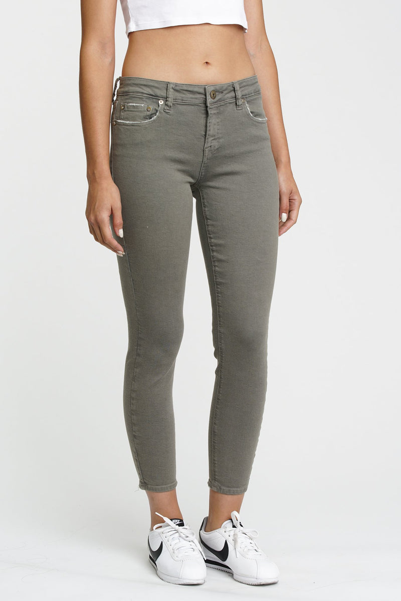 Pistola Aline High Rise Skinny Smudged