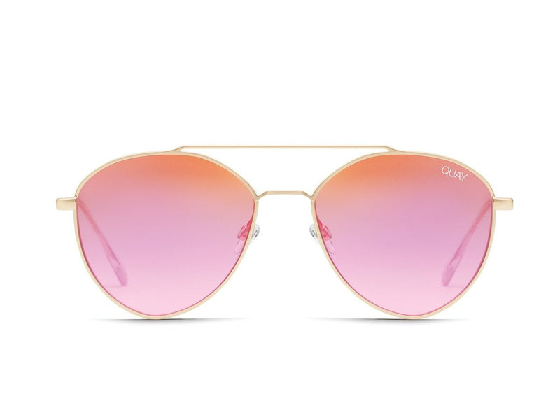 Quay Dragonfly Matte Gld/Pnk