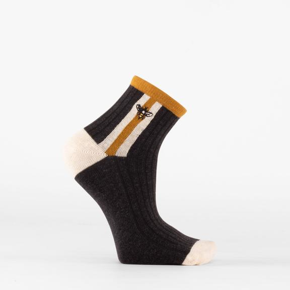 Beholder Stinger Washed Black Socks