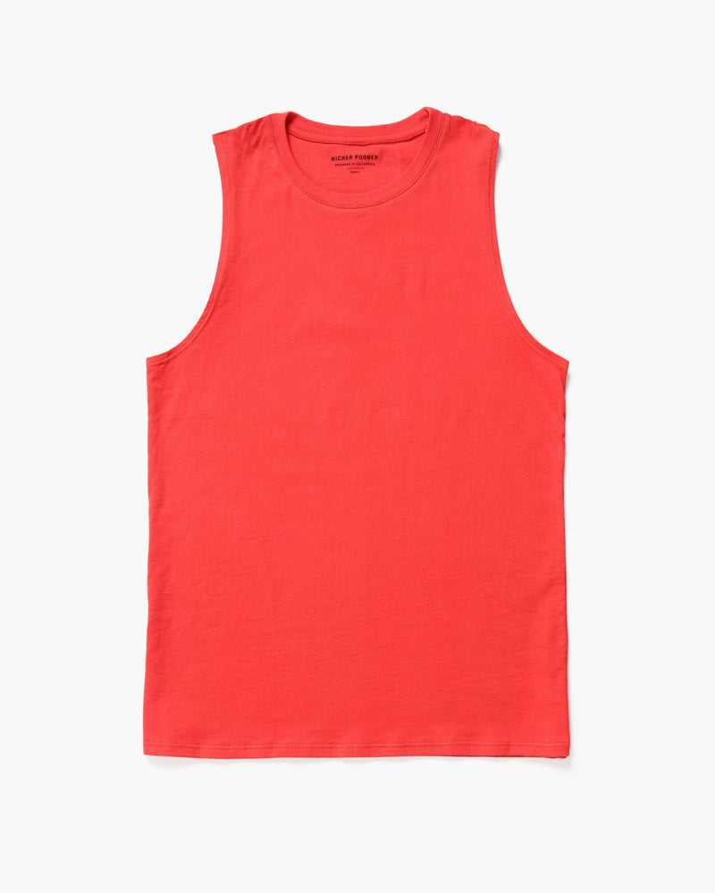 Muscle Tank Red