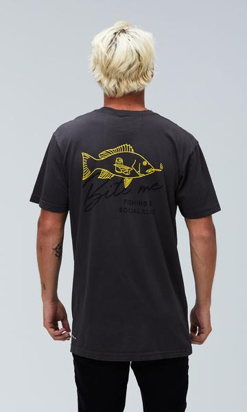 Fish Club Tee Pepper