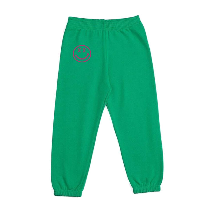 Happy Sweatpant Green/Pink
