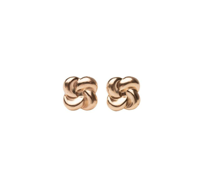 Rose Gypsy Gold Bloom Studs