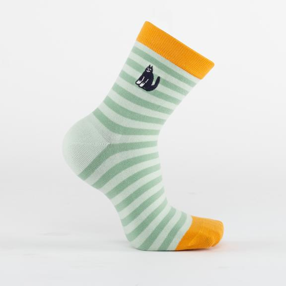 Paws Mint Socks