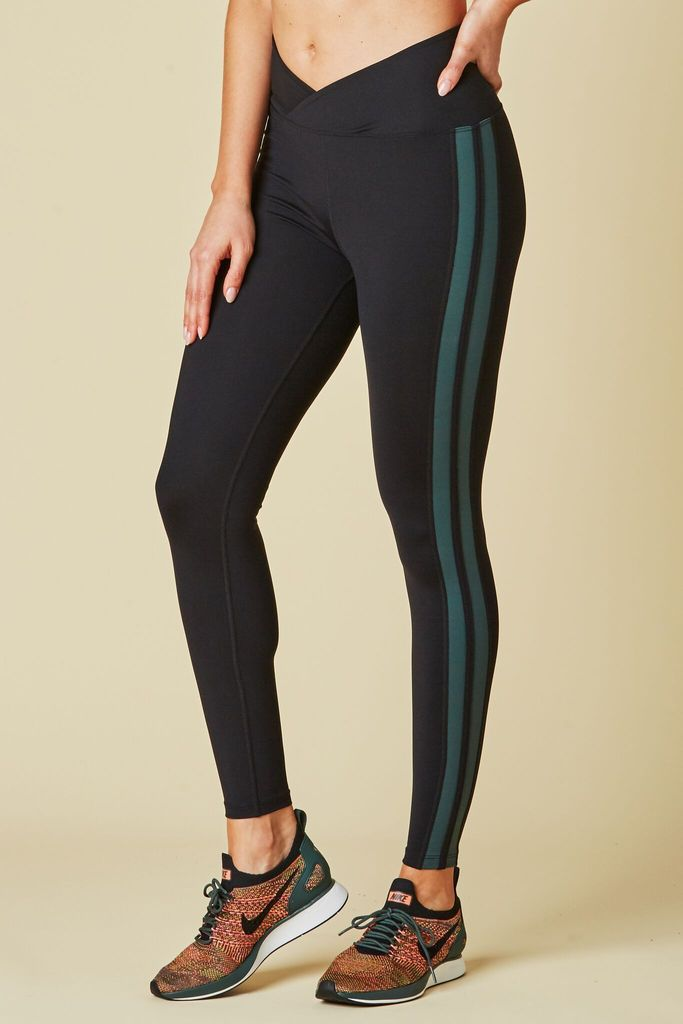 YOS Racer Legging Black/Forest