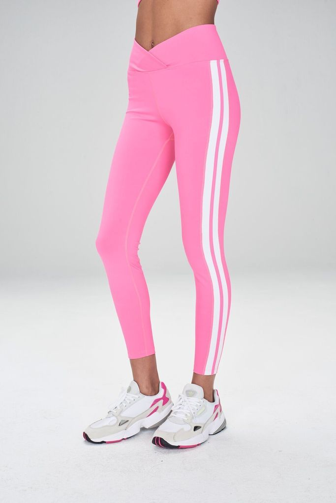 Racer Legging Hot Pink