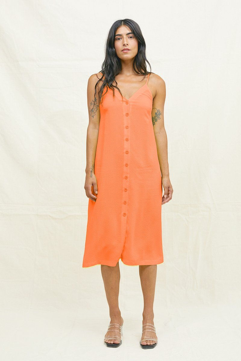 Slip Dress Tangerine