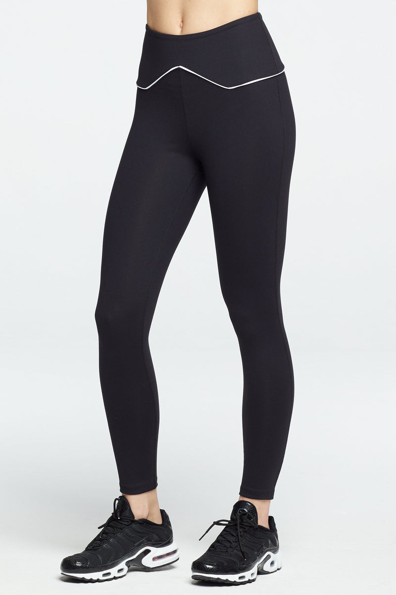 The Rodeo Legging Black/White