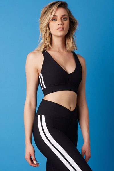 Thermal Racer V Bra Black/White