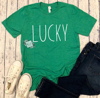 Luck St Patrick's Day Shirt. Youth and Adult.