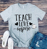 Teach Love Inspire Cursive