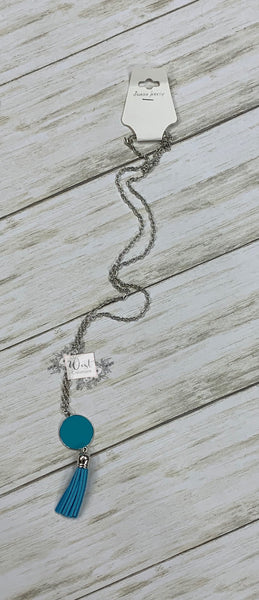 Tassel Monogram Necklaces