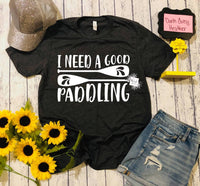 I Need A Good Paddling