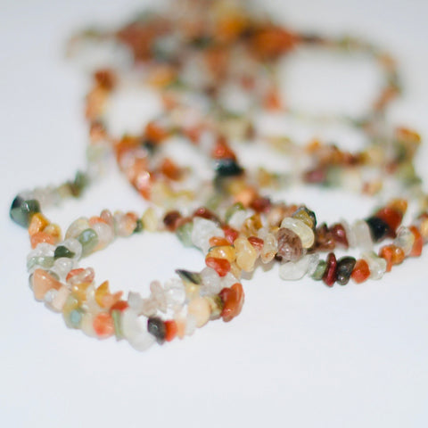 Mother Earth Agate Mix (Bracelet or Choker)