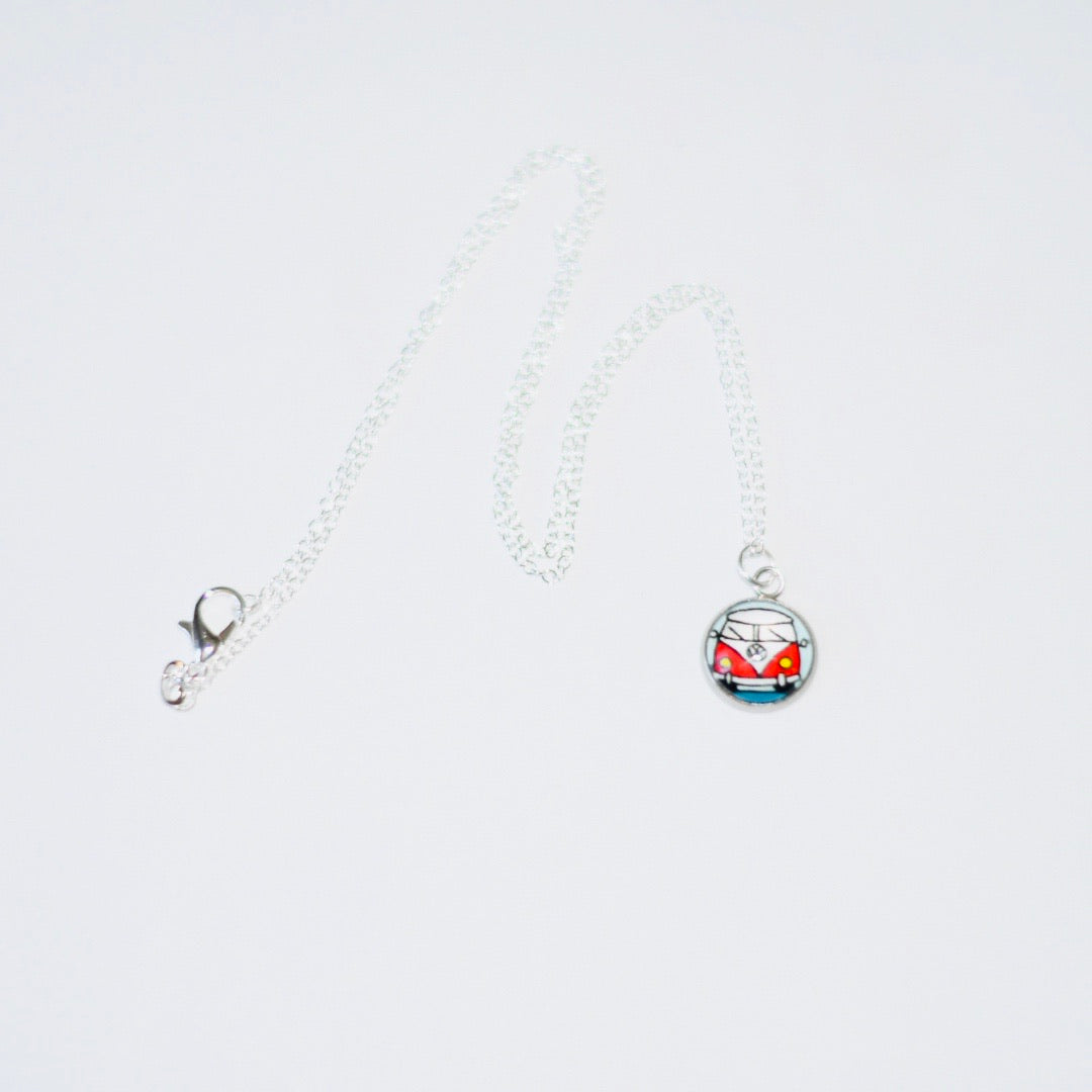 Vw Bus Charm Necklace