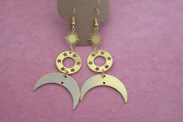 Brass Earrings Collection