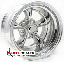 "Load image into Gallery viewer, 15"" Polished Torq Thrust II Wheels"