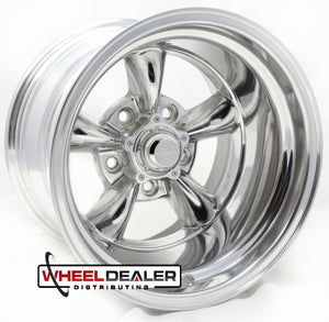 "15"" Polished Torq Thrust II Wheels"
