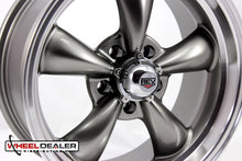 "Load image into Gallery viewer, (4) 18x8"" Gray REV Classic 100 (Ford/Mopar Car)"