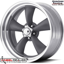 "Load image into Gallery viewer, 18"" Gray Torq Thrust II Wheels"