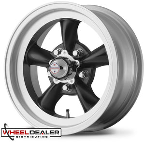 "14"" Black Torq Thrust D Wheels"