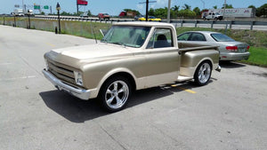 C10 Truck Wheel & Tire Packages (Polished)