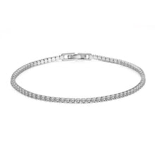Load image into Gallery viewer, 8.00 CTTW White Swarovski Elements Tennis Bracelet