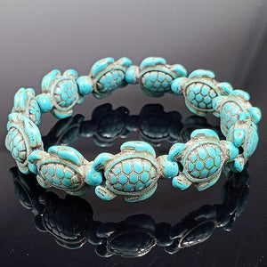 Save the Turtles Stretch Bracelet - 2 Colors