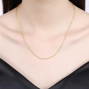 14K Gold Plated Chain Necklace