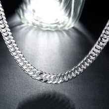 Load image into Gallery viewer, Men's Stainless Steel Diamond Cut Cuban Necklace