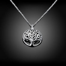Load image into Gallery viewer, Tree of Life Necklace in 18K White Gold Plating