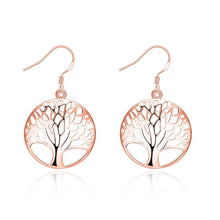 Load image into Gallery viewer, Tree of Life Drop  Earring