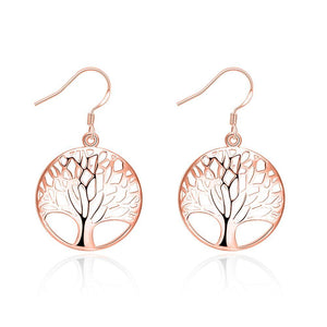 Tree of Life Drop  Earring