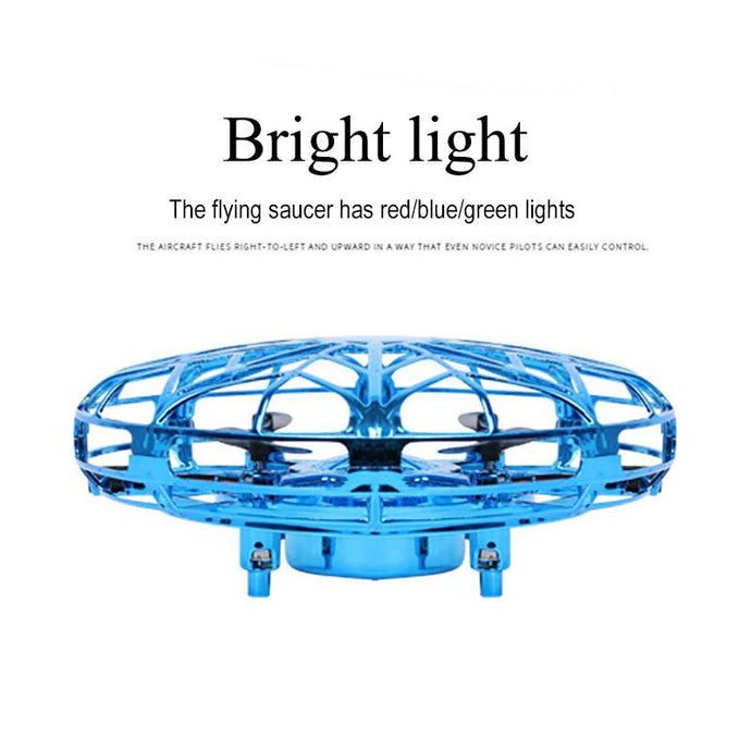 Child Toy UFO Drone Gesture Induction Flying Saucer Gift