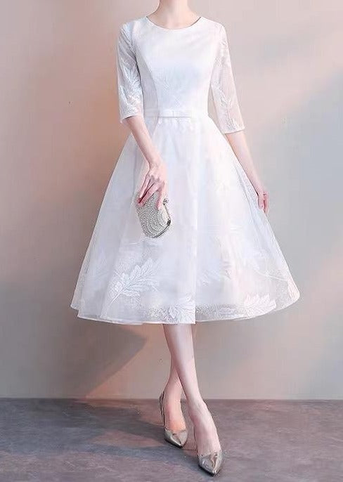 white lace formal dresses 2021