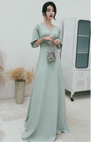Chic fashion prom bridesmaids dress 2020