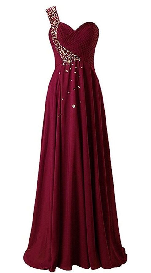 Chiffon prom bridesmaid dresses