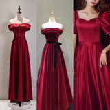 Chic red prom dress 2020