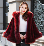 Christmas gift red white black winter wedding accessories fur jacket with hoop