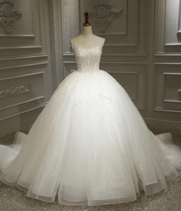 Sweetheart ball gown wedding dresses 2020