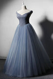 Sexy off shoulder crystals beaded ball gown puffy skirt prom dress 2020