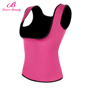 Lover Beauty Dropship Body Shaper Tummy Fat Burner Sweat Tank Top Weight Loss Workout Shapewear Neoprene Sauna Waist corset