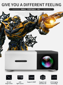 Entertainment Projector Video Beamer for kids