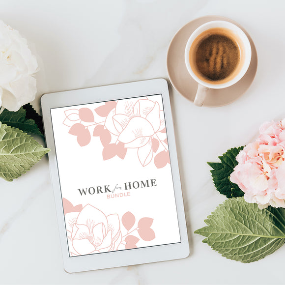 Work-From-Home Career Bundle + Special Bonuses, $47 Value, Yours For $19!