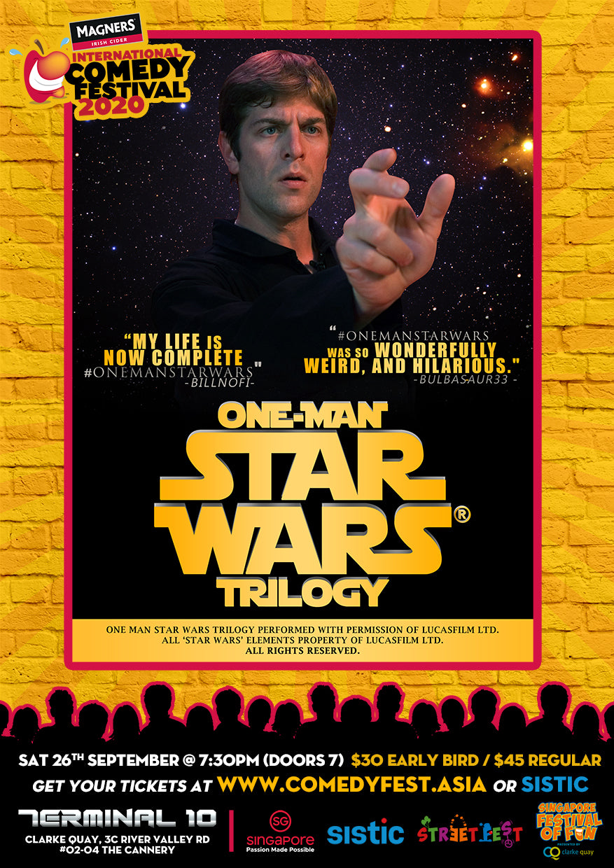 26 Sep - 7.30pm - One Man Star Wars!