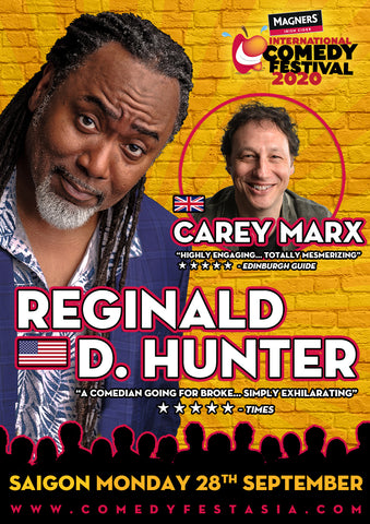 Reginald D Hunter SAIGON Live! - Monday 28 SEPT. 2020