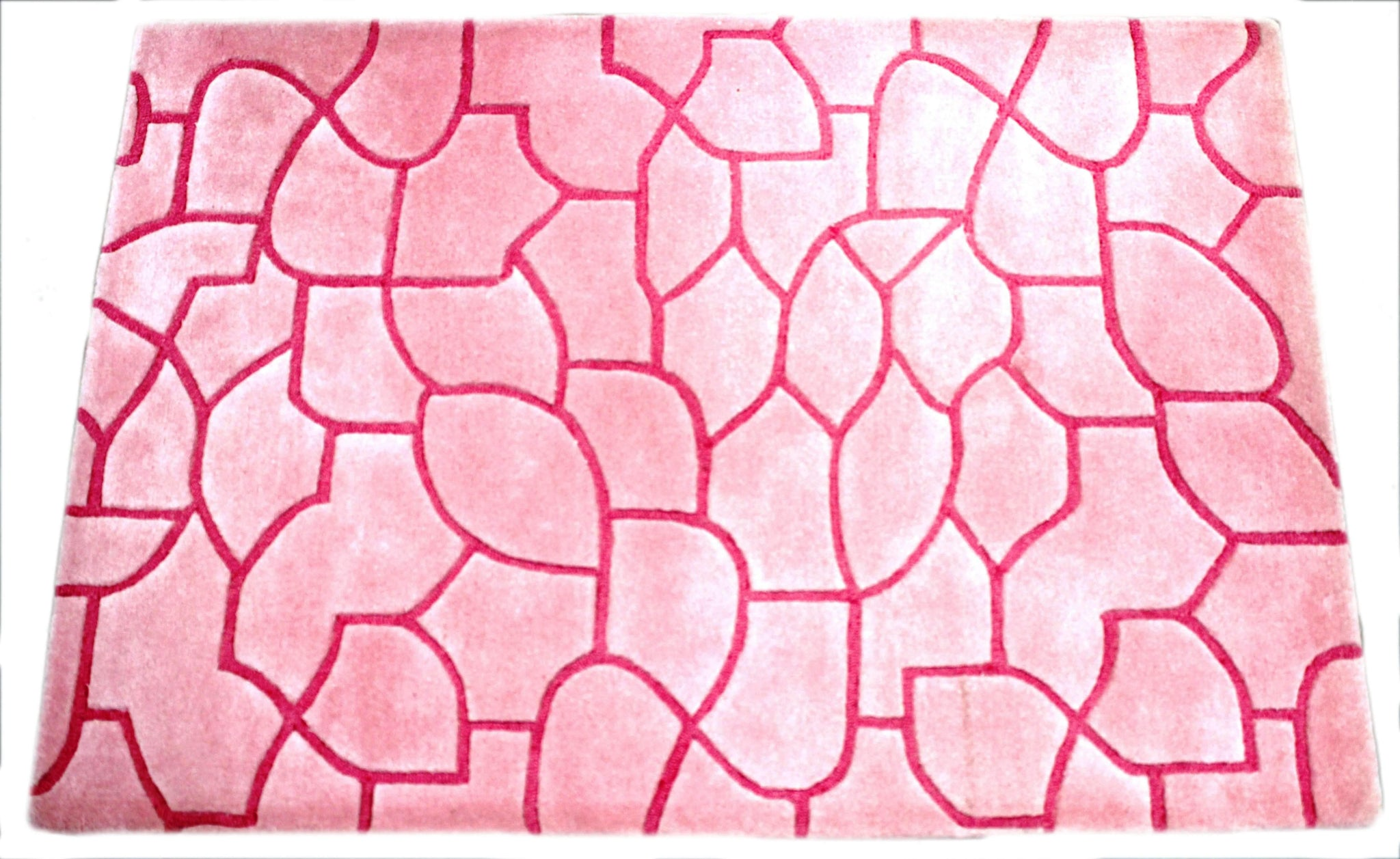 Verve Hand-Made Grounding Pink Hand Made Rug