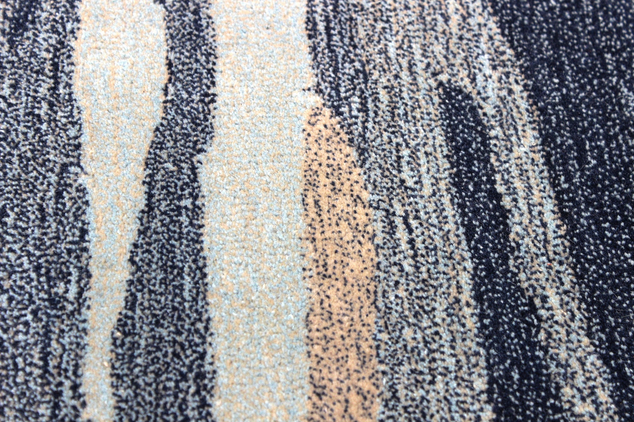 Blue rock handmade area rug by verve hand-made