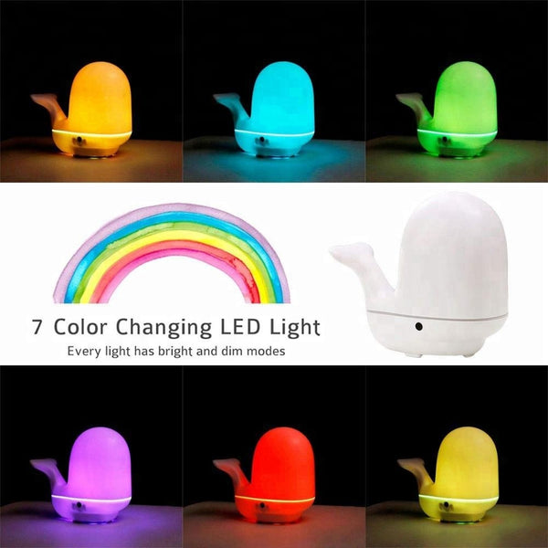 Rainbow Animal Shaped Baby Essential Oil Diffusers