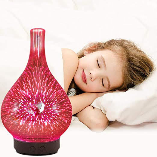 Essential Oil 3D Glass Aroma Electric Diffuser